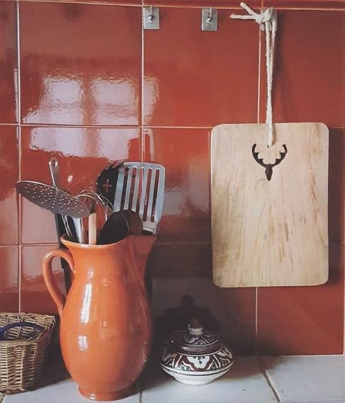 Detial kitchen Guesthouse Benali Eco Tou