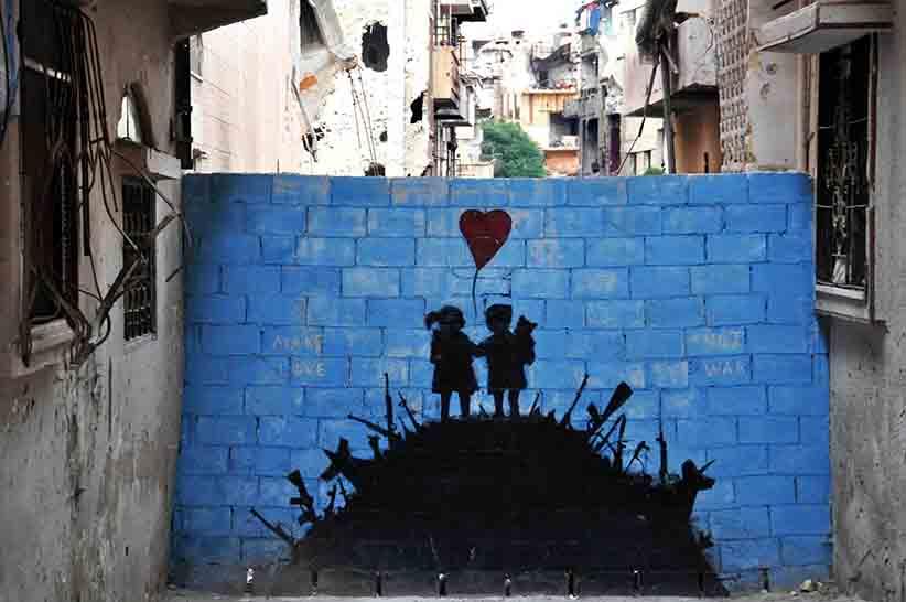 Quartier d'Hamadye, Homs, Syrie