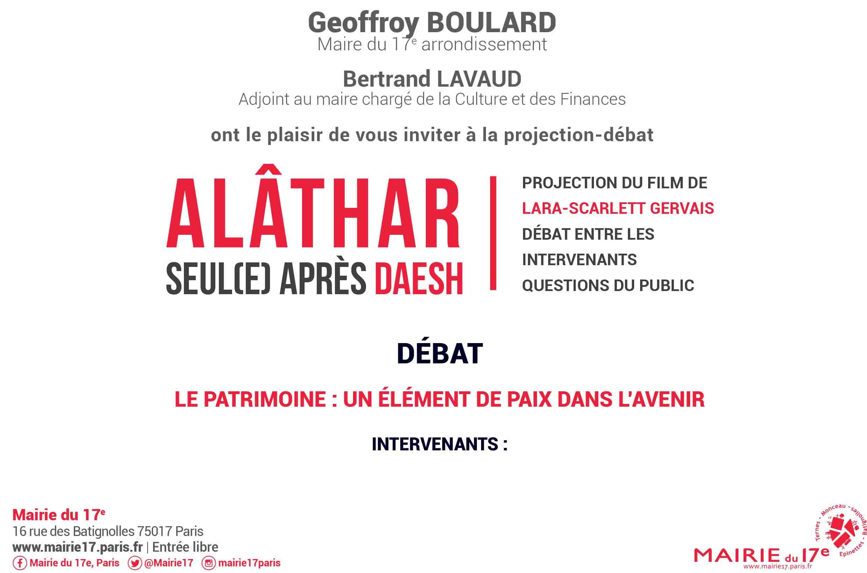 Conférence Mairie 17e Paris