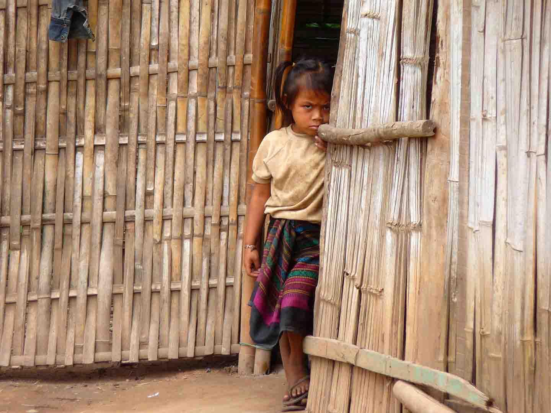 Village Hmong, Laos