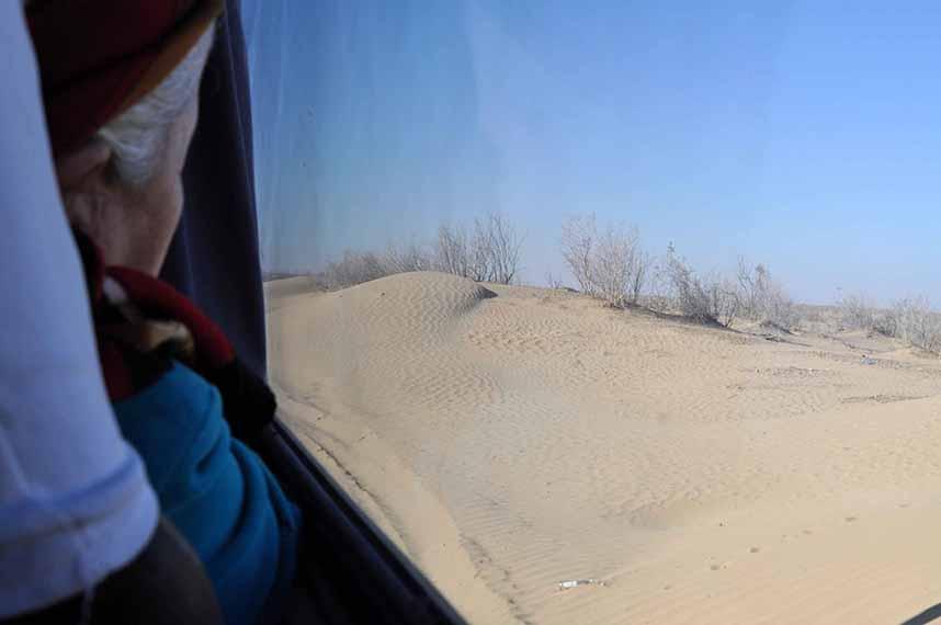 Désert du Kyzylkoum, Ouzbékistan