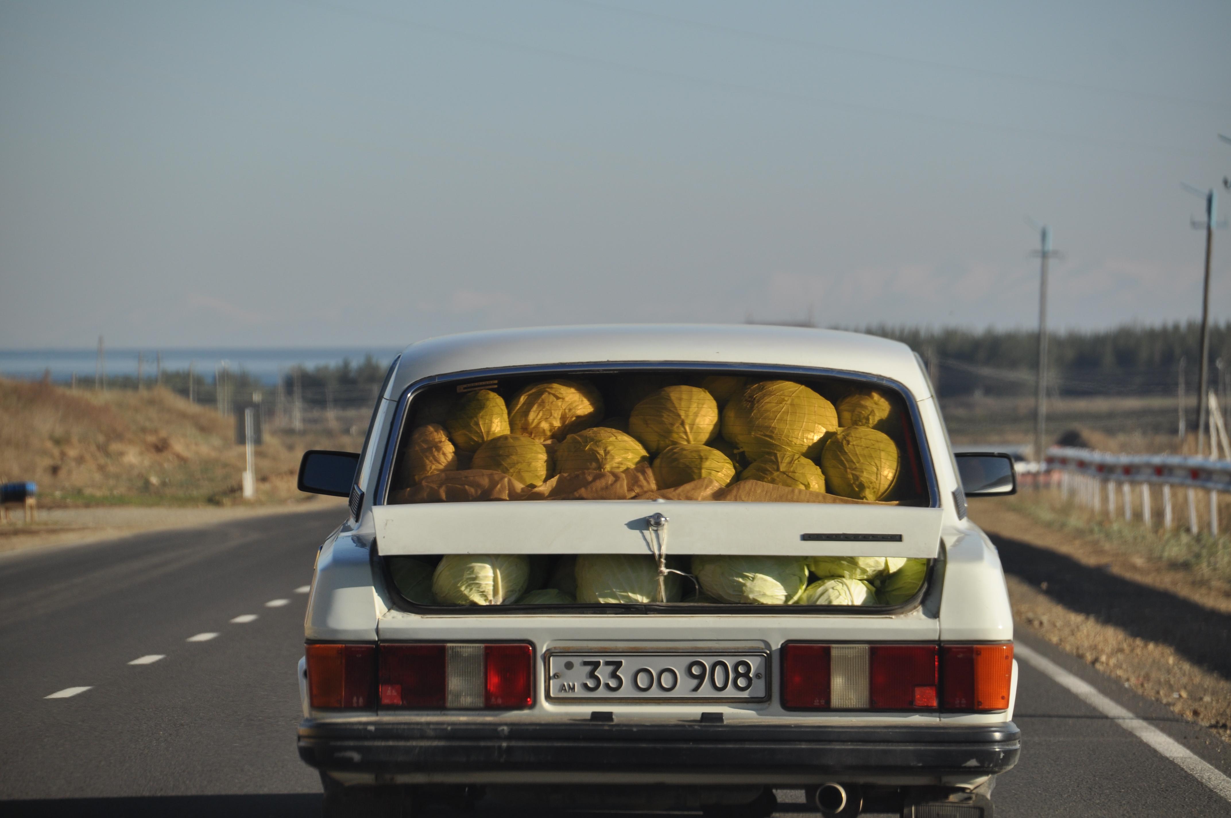 Sur la route du lac Sevan, Arménie