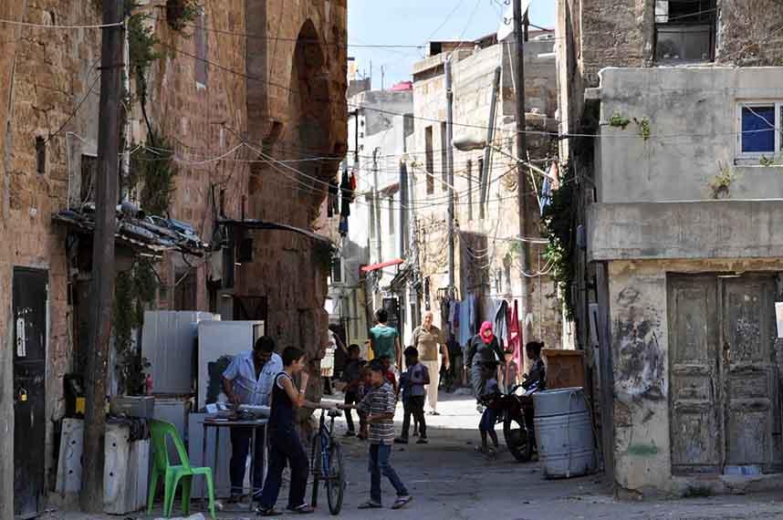 Vieille ville de Tartous, Syrie