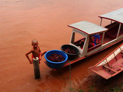 Mékong, Laos