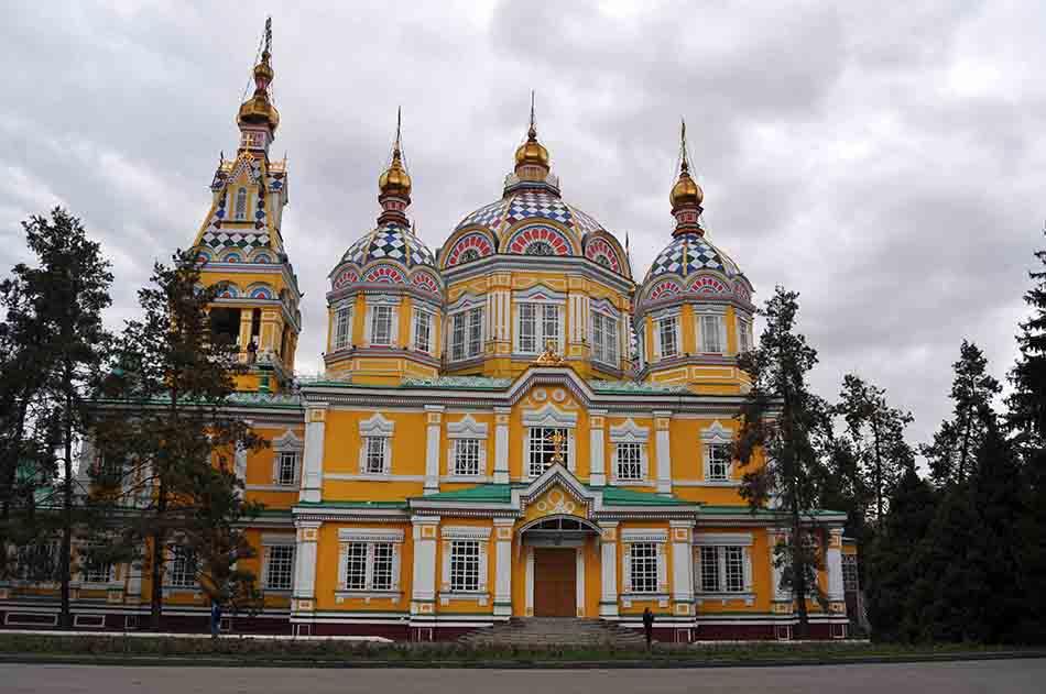 Parc Panfilov, Almaty, Kazakhsta