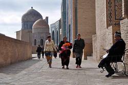 Shah-i-Zinda, Ouzbékistan