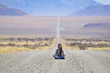 Lara-Scarlett Gervais en Namibie