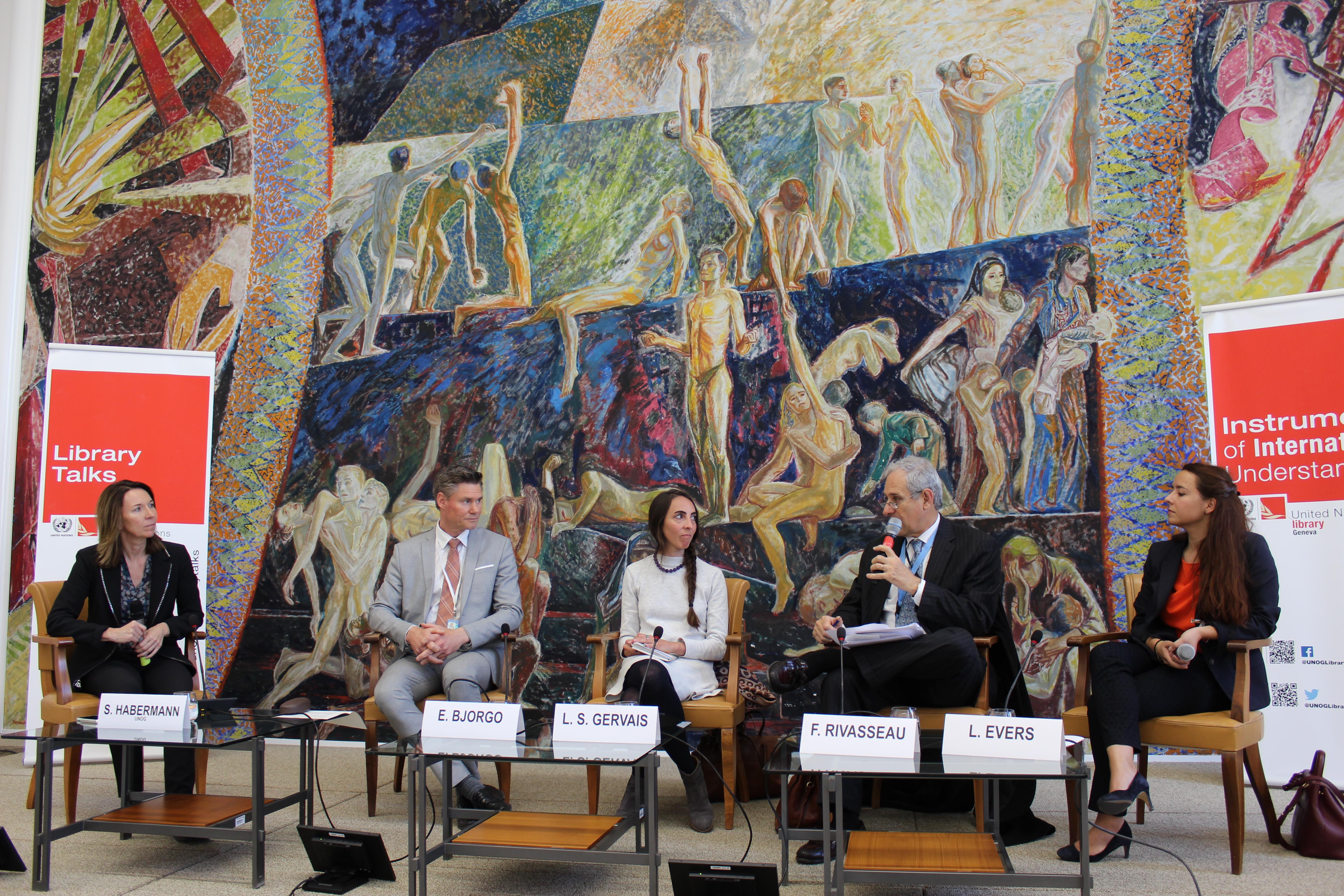 conférence - bibliothèque de l'ONU