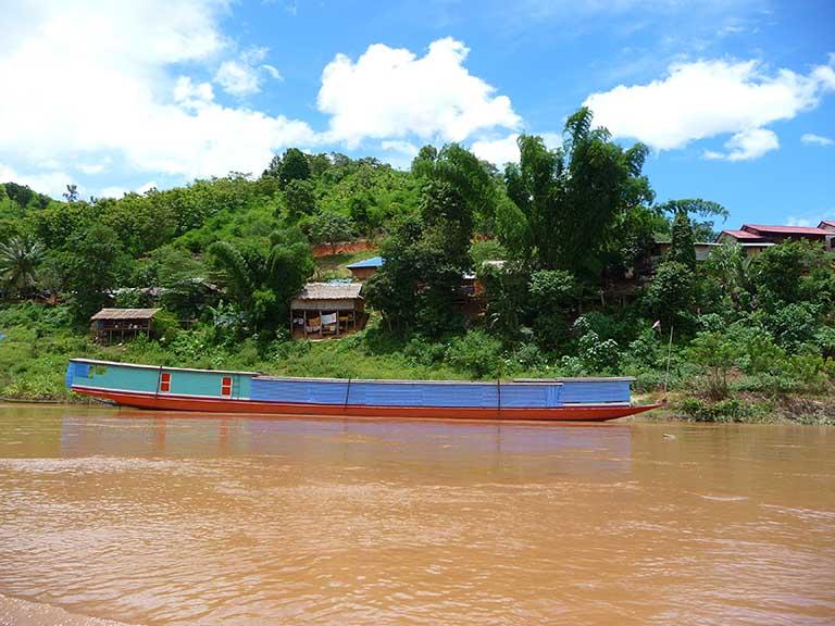 Mékong, nord du Laos