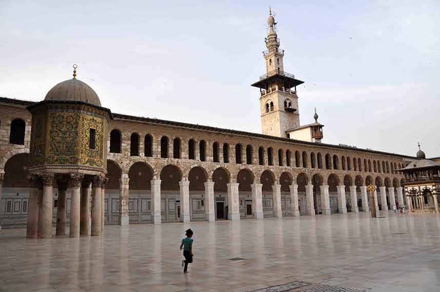 Mosquée des Omeyyades, Damas, Syrie