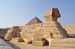 Sphinx de Gizeh, Egypte