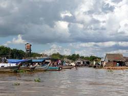 Tonlé Sap, Cambodge