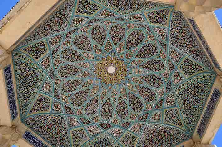 Tombe d'Hafez, Shiraz, Iran