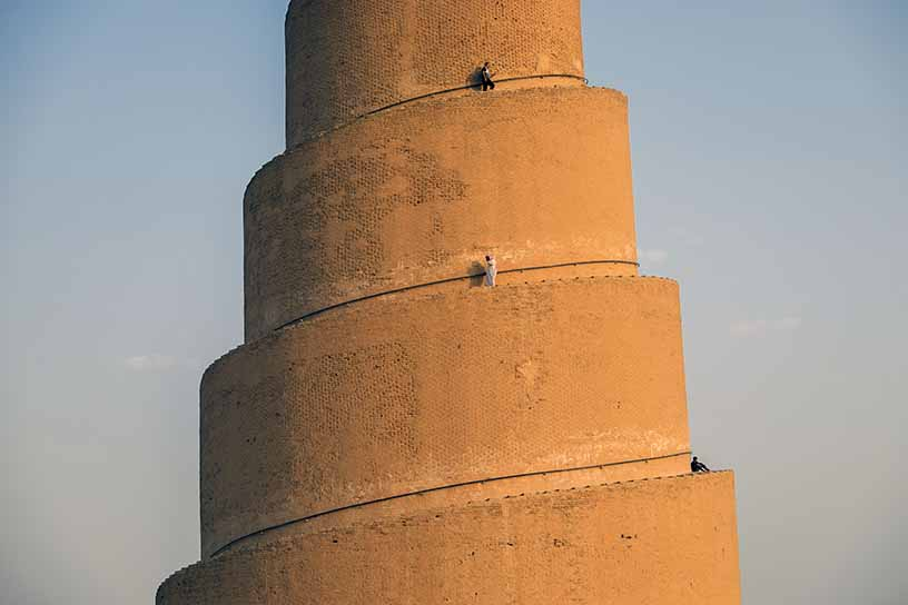 Grande mosquée de Samarra, Irak