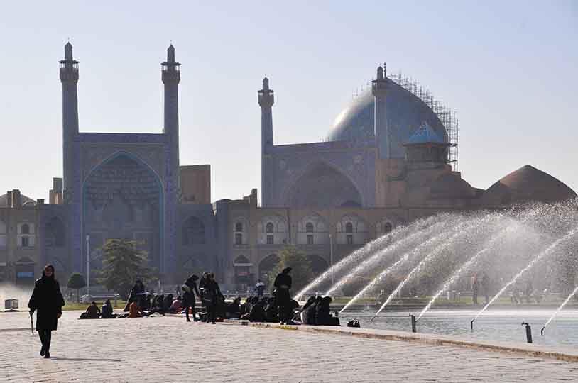 Place d'isfahan, Iran