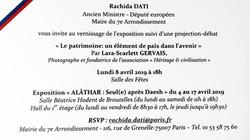 ALÂTHAR Mairie du 7e Paris
