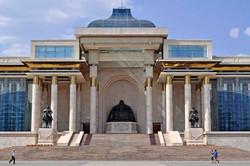 Place de Sukhbaatar, Oulan-Bator