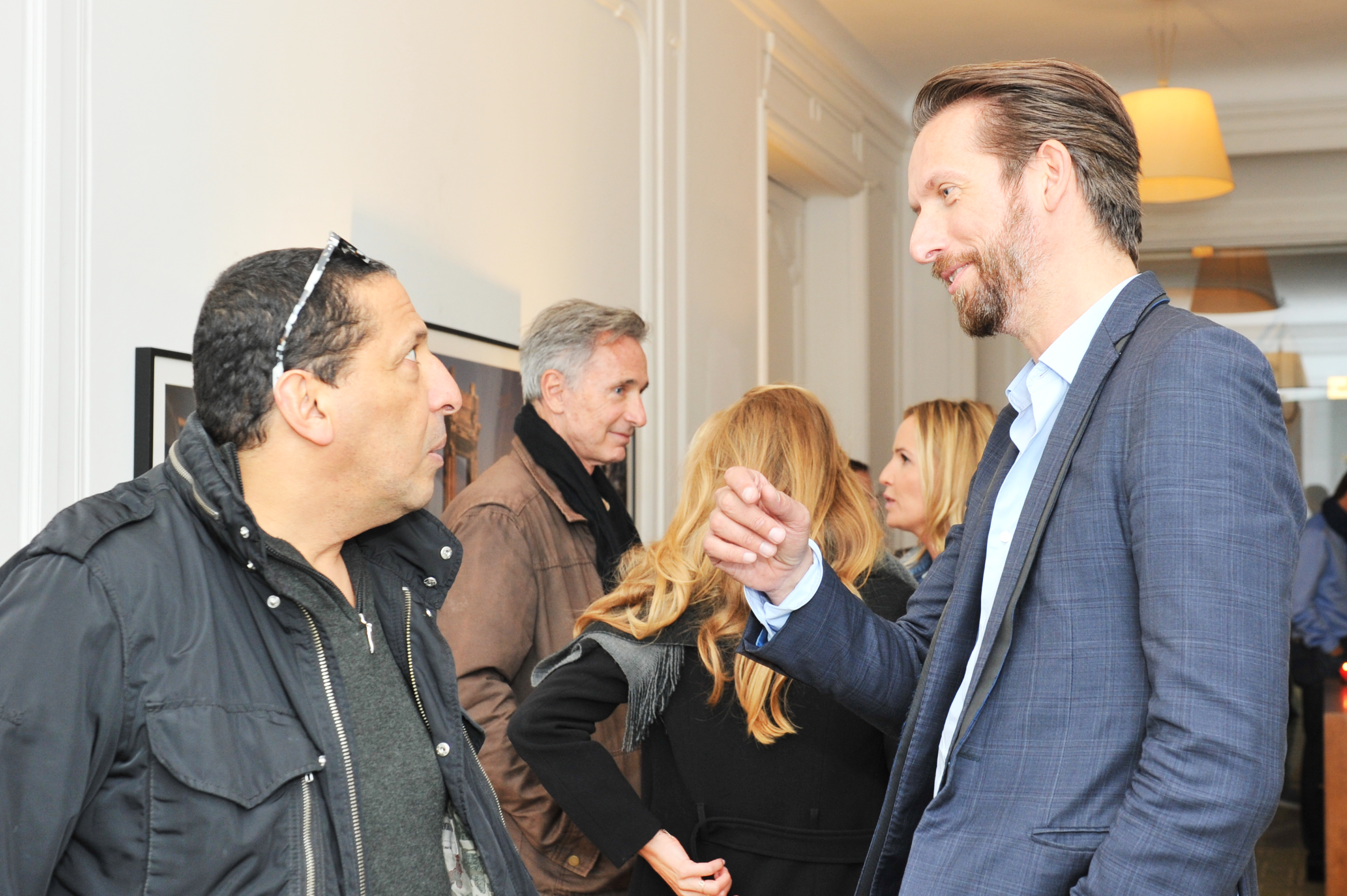 Smaïn, Thierry Lhermite & Sam Bobino