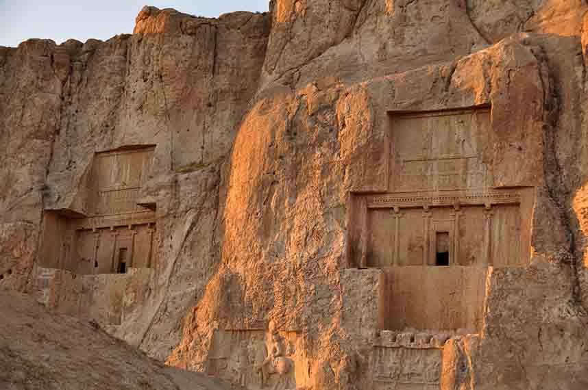 Naqsh-e Rostam, Persépolis, Iran