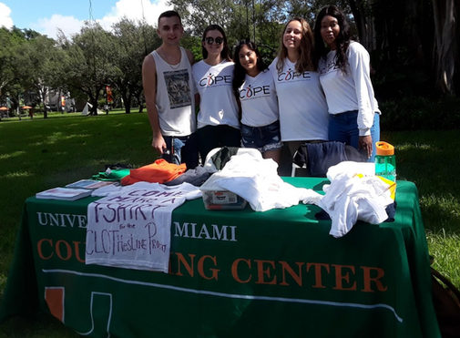COPE at The University of Miami Speaks on Rape and It's Affects