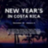 new years eve costa rica
