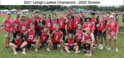 2021 Lehigh Laxfest Champs - 2022 Division