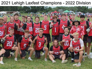 2021 Lehigh Laxfest Champions - 2022 Division