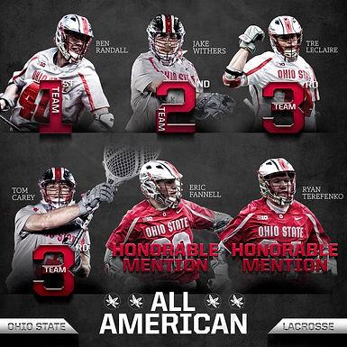 Coach Terefenko - All American Honors