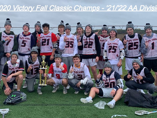 Victory Fall Classic '21/'22 AA Division Champs