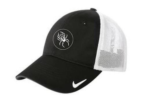 Nike Mesh Back Cap - Black/White