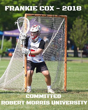 Frankie Cox - Committed to Robert Morris University