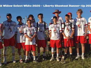 White Select-2020 Liberty Lacrosse Shootout Runner-Up