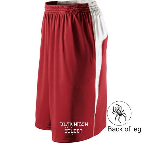 Holloway Simulate Shorts - Scarlet/White