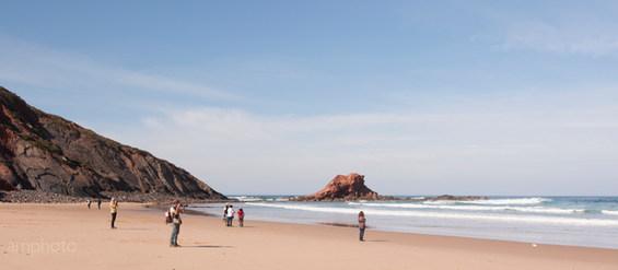 """Praia da Ponta RuivaCosta Vicentina  37° 4'3.27""""N   8°57'52.60""""W Ref: Costa Vicentina 010"""