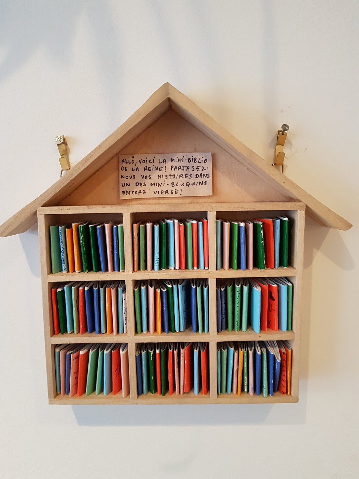 Mini bibliotheques / libraries