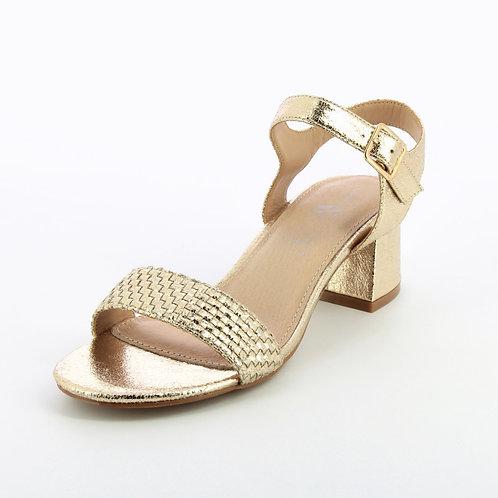Sandales dorées SD2252 - Vanessa Wu
