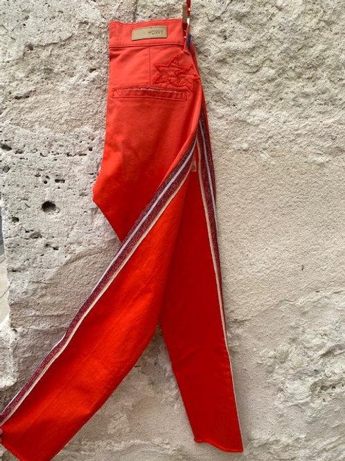 Pantalon HAPPY SHINE - Fraise