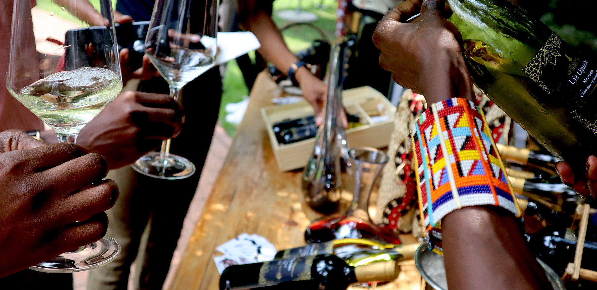 Liz Ogumbo Wine Tasting JOBURG LOVES WINE
