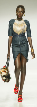 Liz Ogumbo SA Fashionweek AW18 DENIMANIA