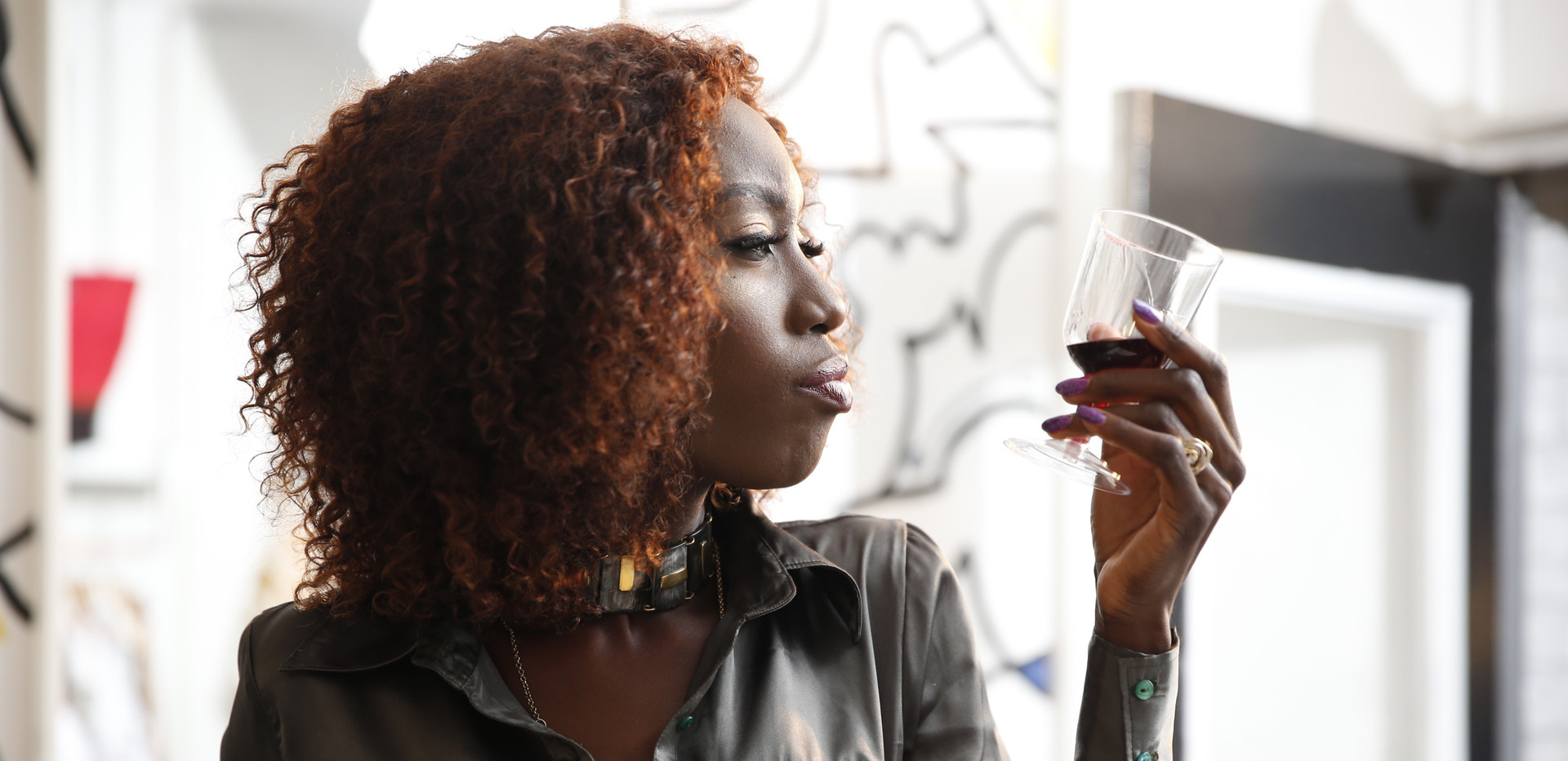 Liz Ogumbo Wine fashion photography NARA