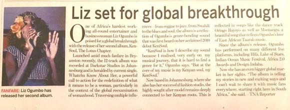 Liz Ogumbo interview - New Age