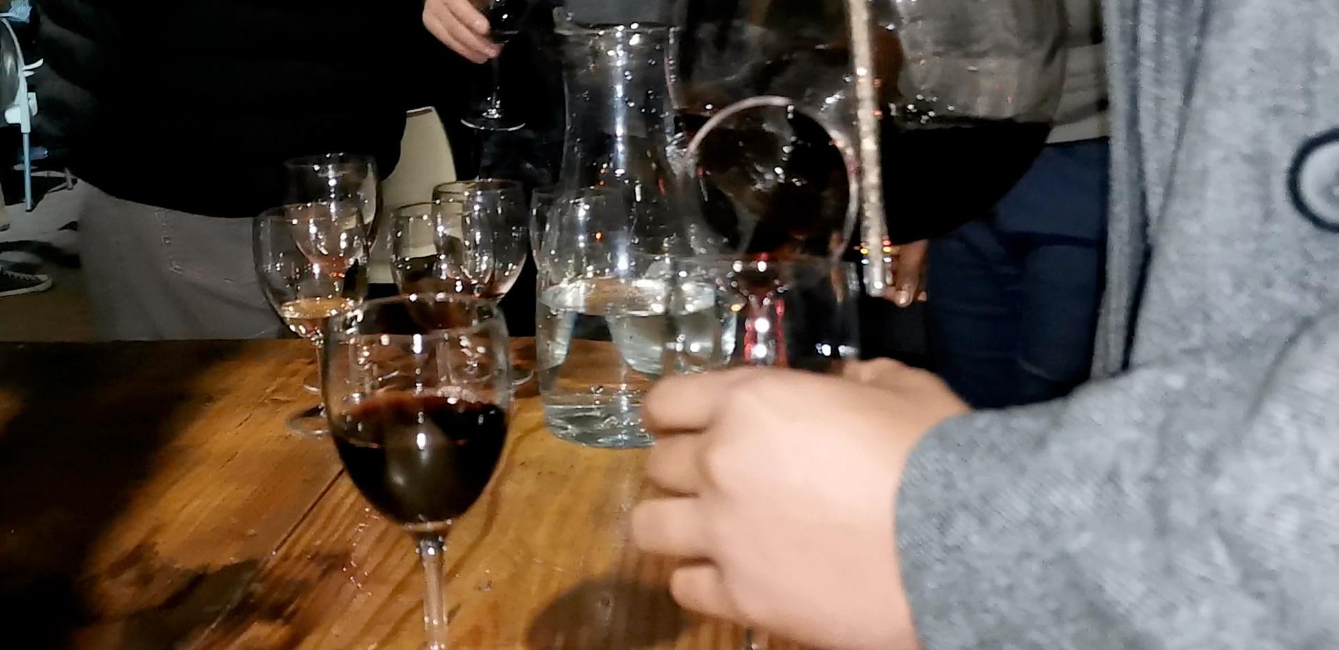 Liz Ogumbo Wine Tasting Vodoo Lily 8 cop