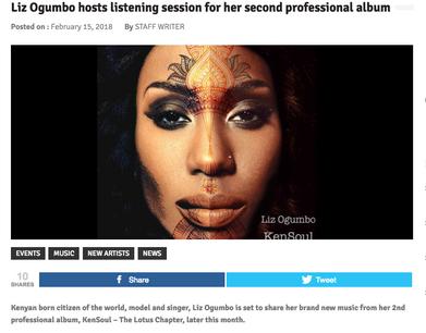 Liz Ogumbo - interview - After 12