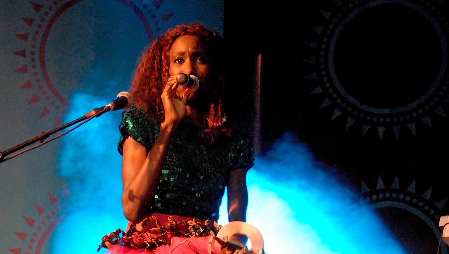 Liz Ogumbo performing LIVE at HIFA