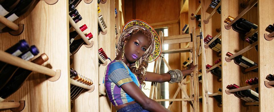 Liz Ogumbo Check Print - 12yrs a Brand 1