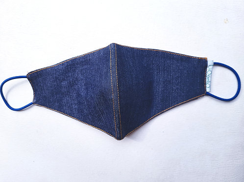 2-ply double-sided DeniMania Mask (Plain)