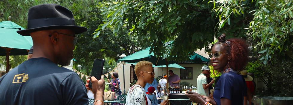 Liz Ogumbo Wine Tasting JOBURG LOVES WINE