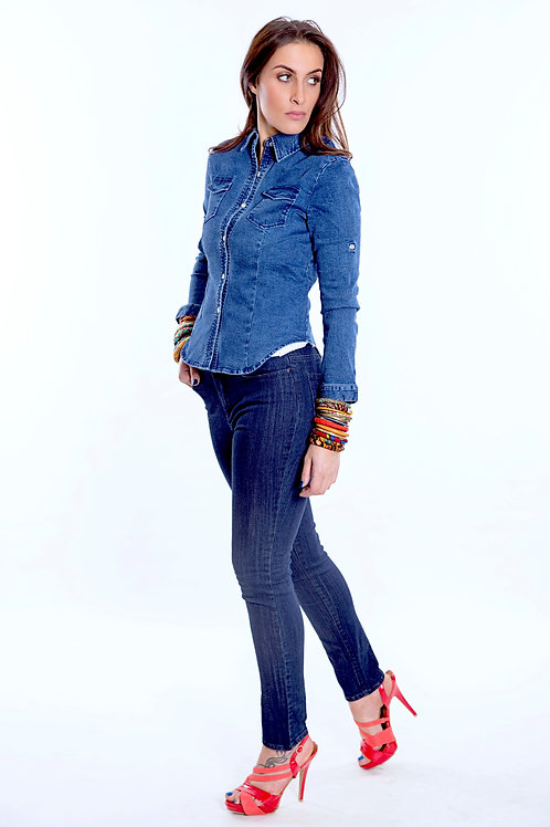 Serengeti mid-rise Jeans