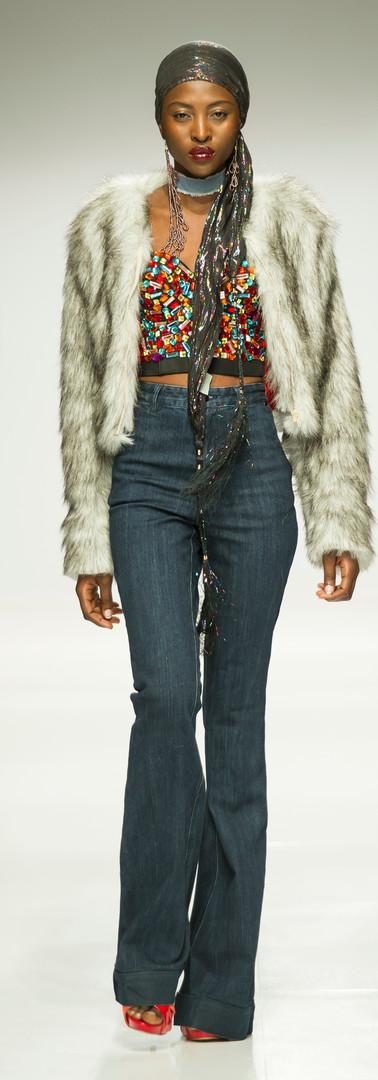 Liz Ogumbo SA Fashionweek AW18 DENIMANIA 9