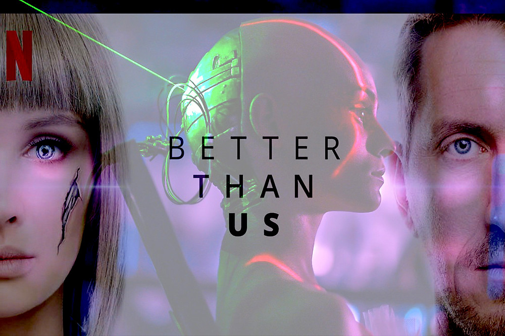 "Russian science fiction TV series, ""Better Than Us"""